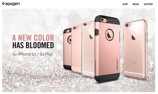 spigen rose gold iphone cases