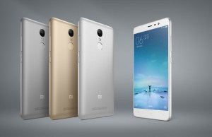 The Xiaomi Redmi Note 3 is here and it has a fingerprint scanner!