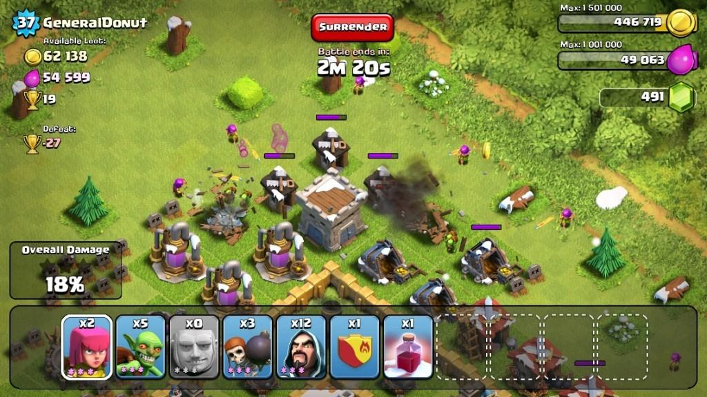 Clash of Clans Attack Strategy 1