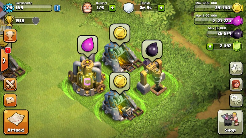 Clash of Clans resources