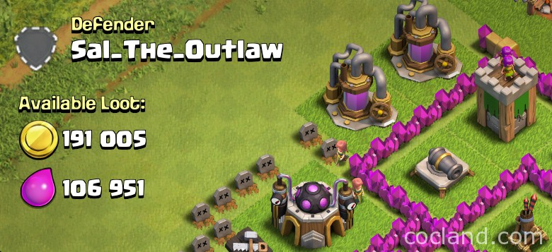 available loot clash of clans