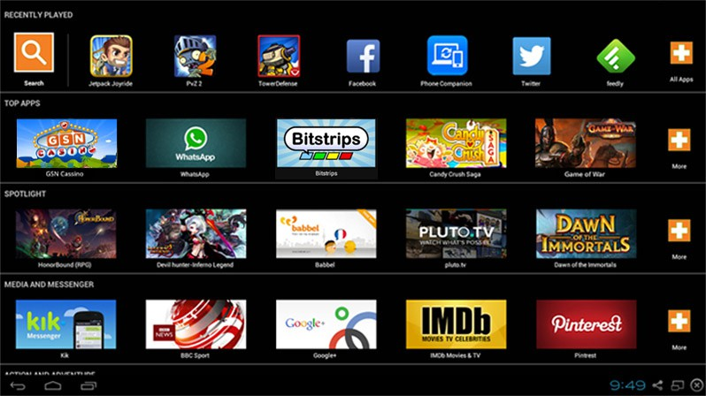 run Android apps on Windows PC bluestacks emulator