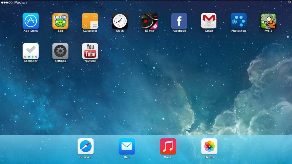 ipadian : best iOS emulator for PC