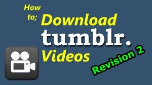 How to Save Tumblr Videos to iOS Camera Roll on iOS 10