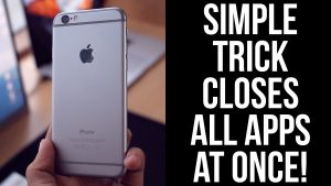 How to Close All Apps on iPhone at Once Using Quick Method