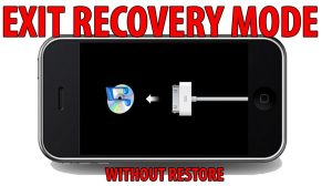 How to Exit Recovery Mode Using TinyUmbrella/Redsn0w