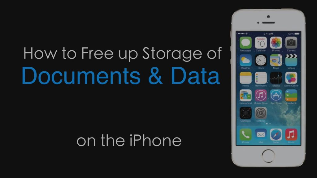 Delete Document and Data on iPhone