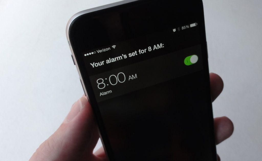 how to fix iPhone alarm
